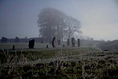The Stone Cirle at Avebury