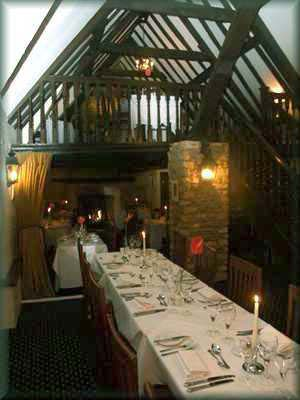 Bell Inn Hotel Dining Room
