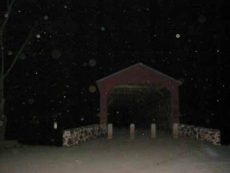 Photos of Orbs at Sachs Bridge