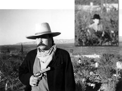The Boothill Cemetery Ghost Photo, Arizona