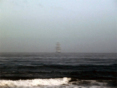 Ghost Ship Photo, Milnerton Beach