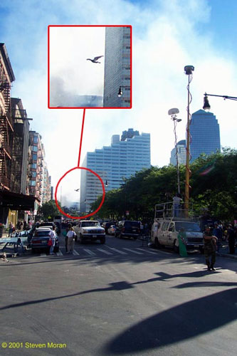 Mothman Sighting in New York just before 9/11