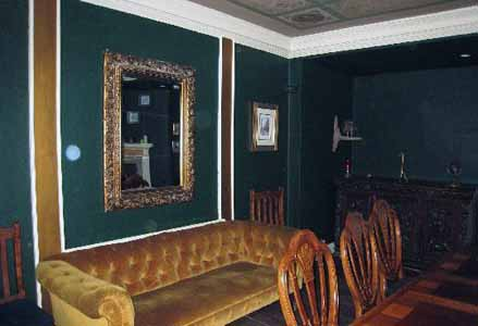 A photgraph capturing orbs at 35 Stonegate