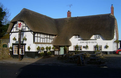 The Red Lion Pub, Avebury, England