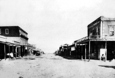 An early photograph of Tombstone, Arizona