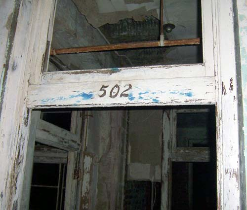 Room 502 at Waverly Hills Sanatorium